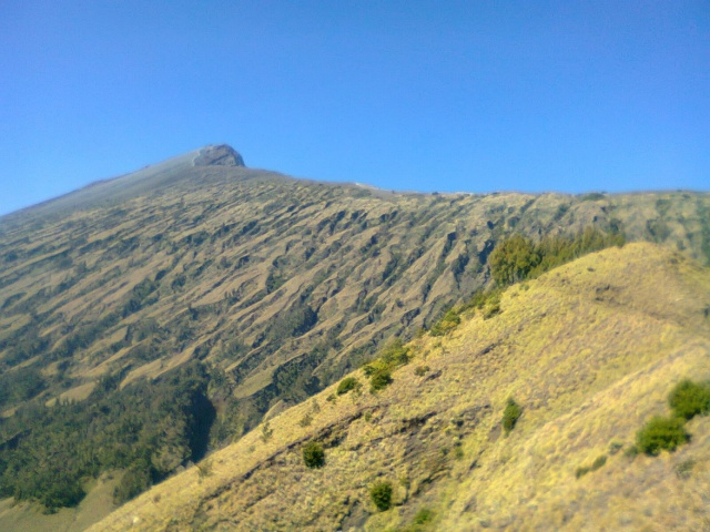Peak Of Rinjani Mountain